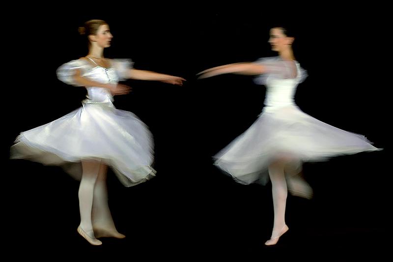 Spinning ballerinas