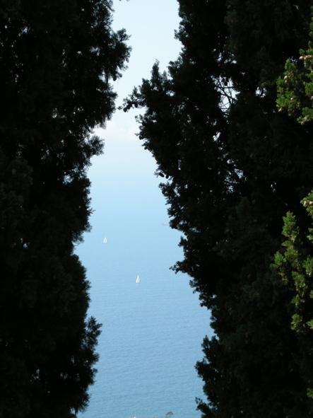 spiraglio sul mare