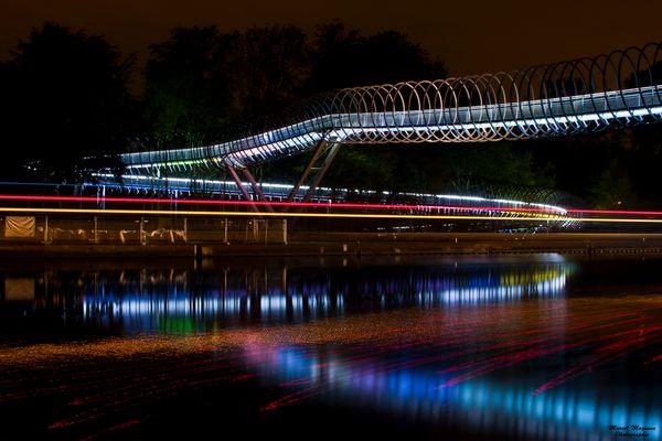 Spiral Brücke in Oberhausen !!