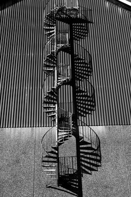 Spiral Staircase Shadow