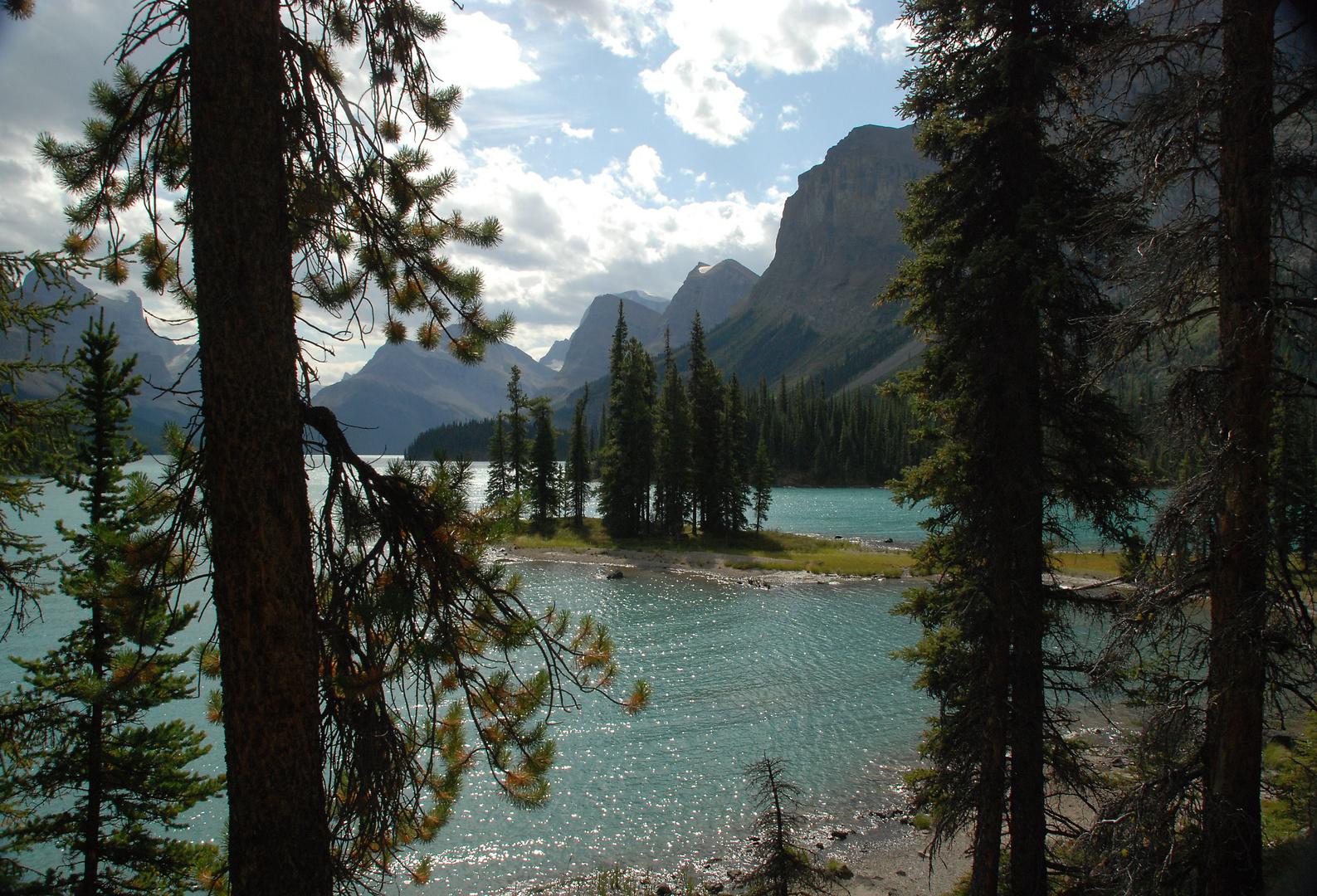 Spirit Island, Maligne Lake, Canada 2009