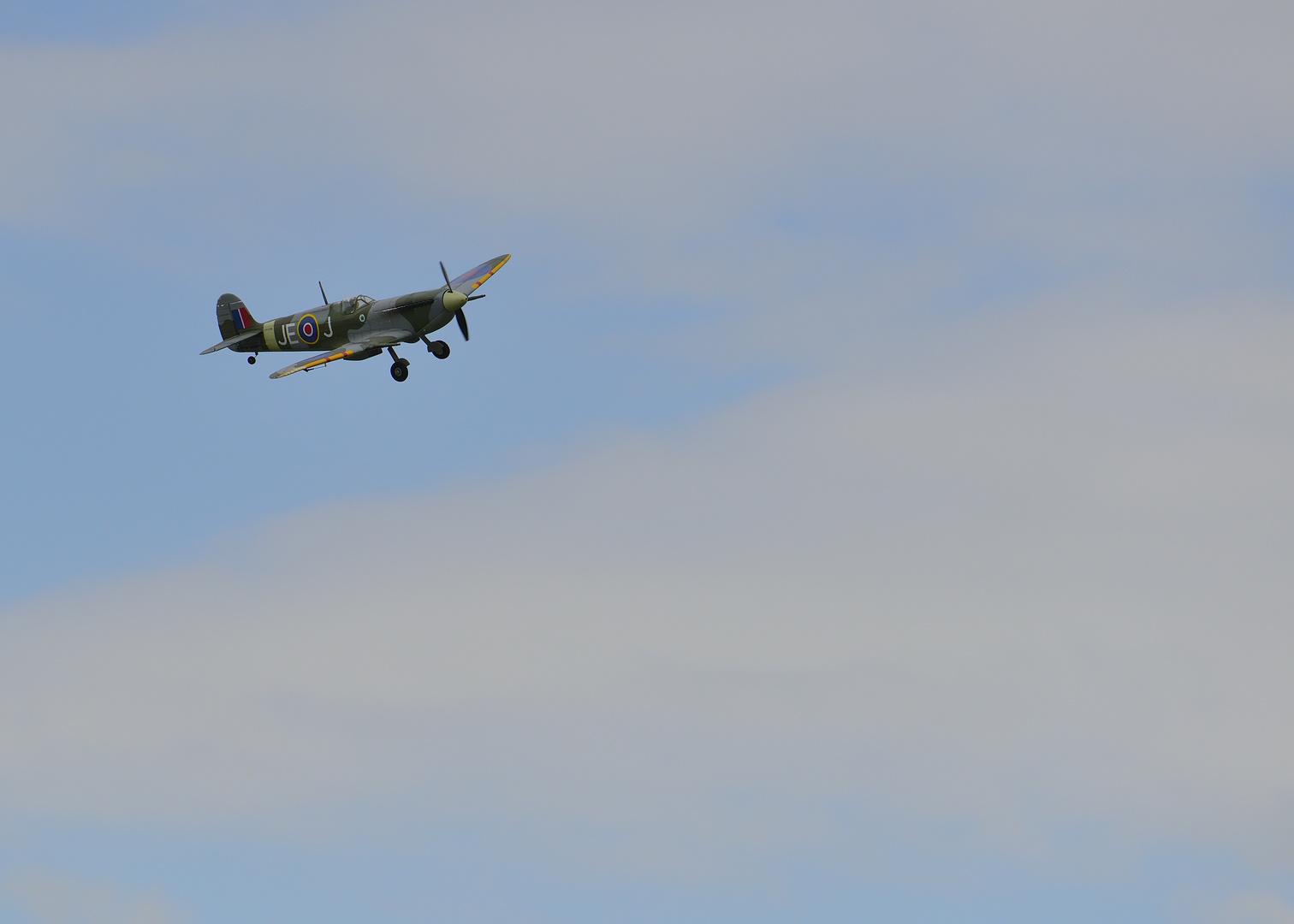Spitfire im Anflug