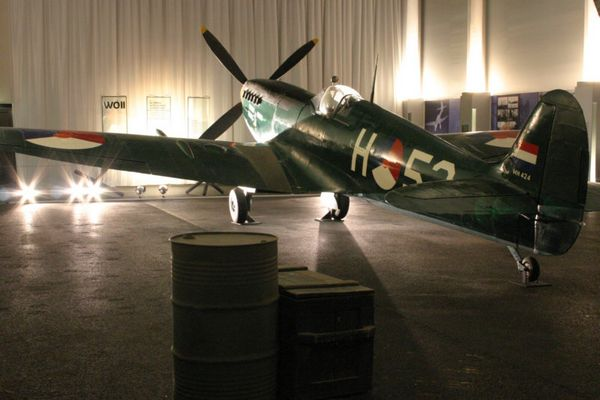 Spitfire in Holland