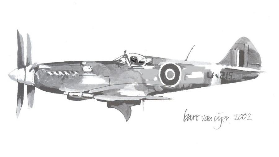 Spitfire Mk. IV drawing