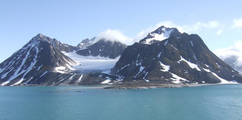 Spitzbergen , im Magdalenenfjord