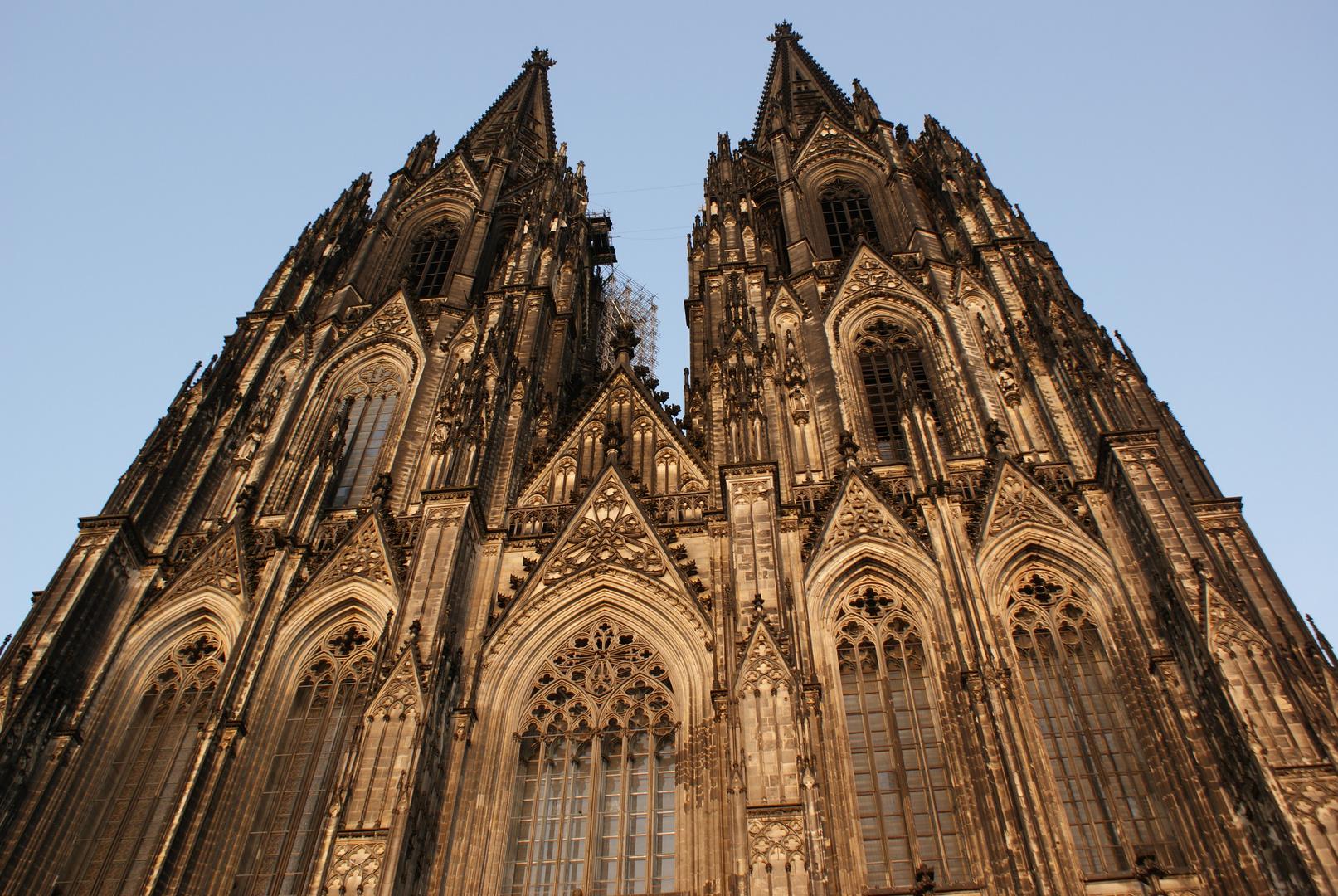Spitzen vom Kölner Dom