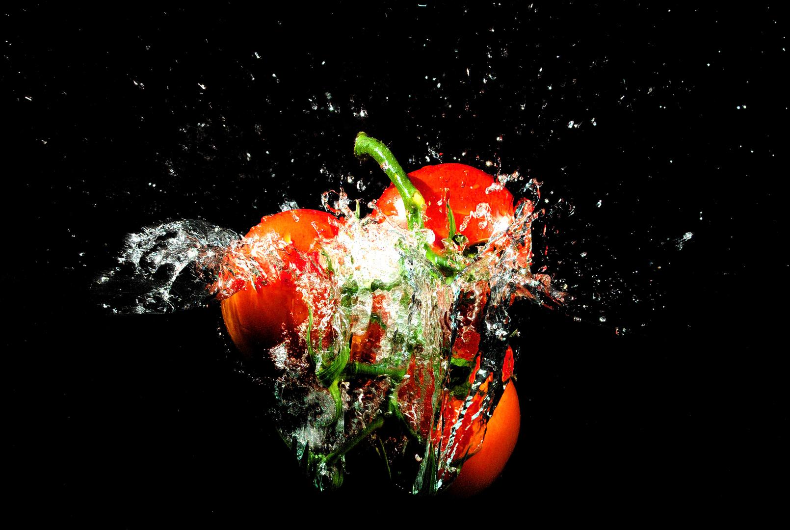 Splash! Tomaten