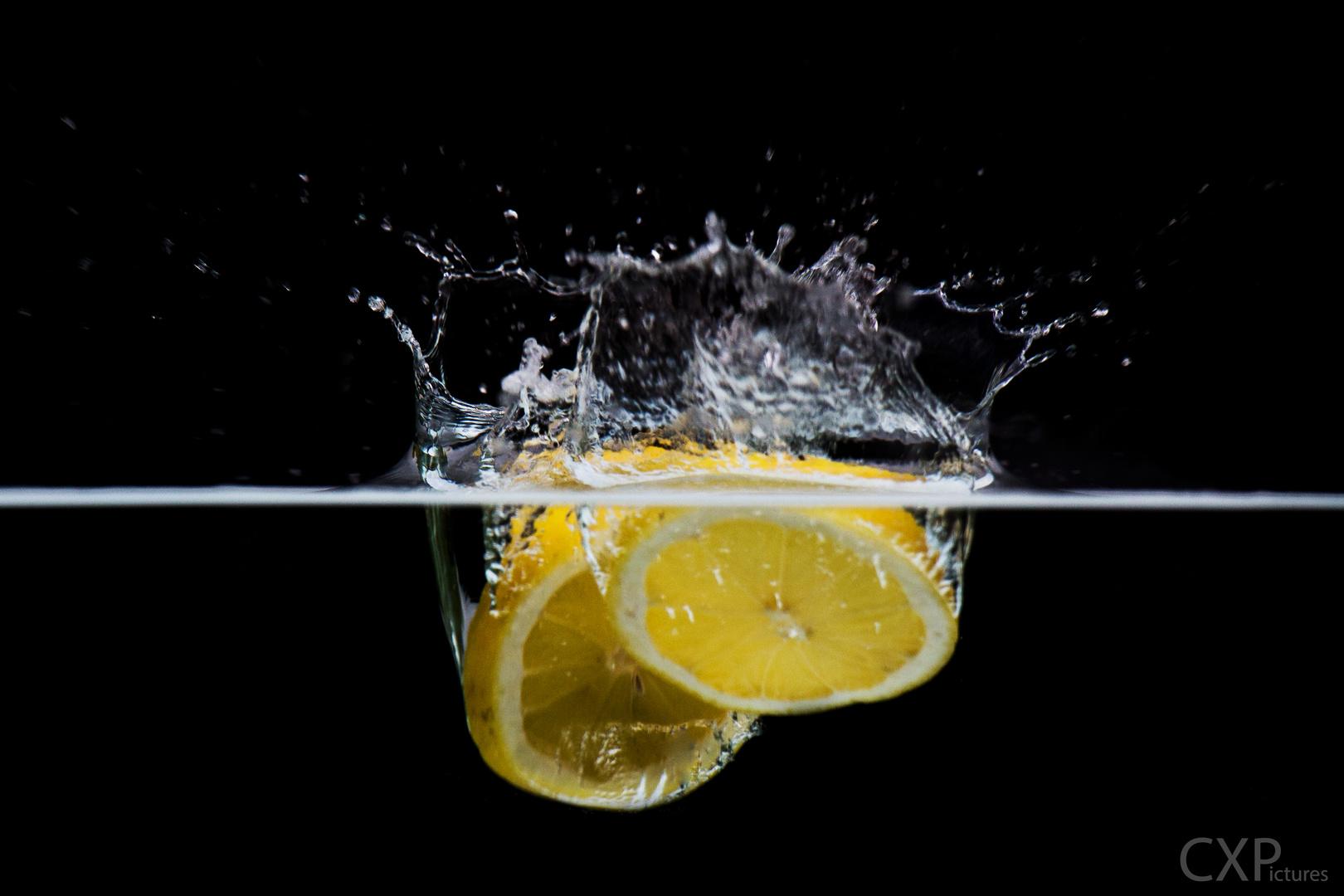 Splash Zitrone