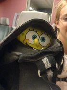 Spongebob in der Tasche