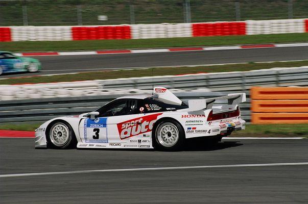 Sport Auto Honda NSX von hinten