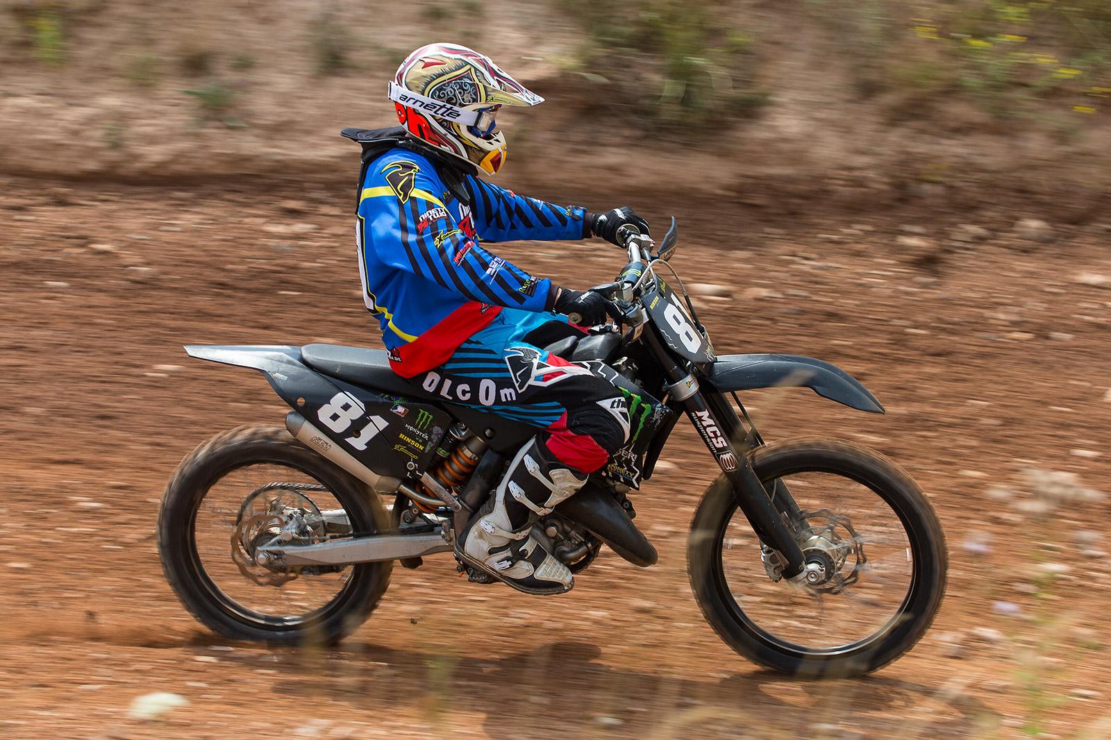 Sport und Action im Focus: Motocross