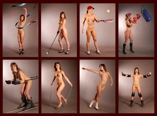 Sportakt-Fotoserie
