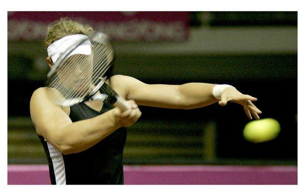 Sportfotografie Fed Cup Tennis 2007
