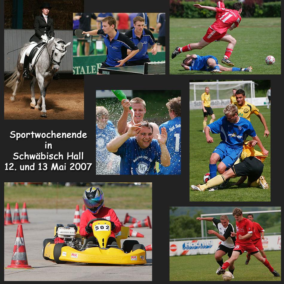 Sportwochenende 12. und 13. Mai