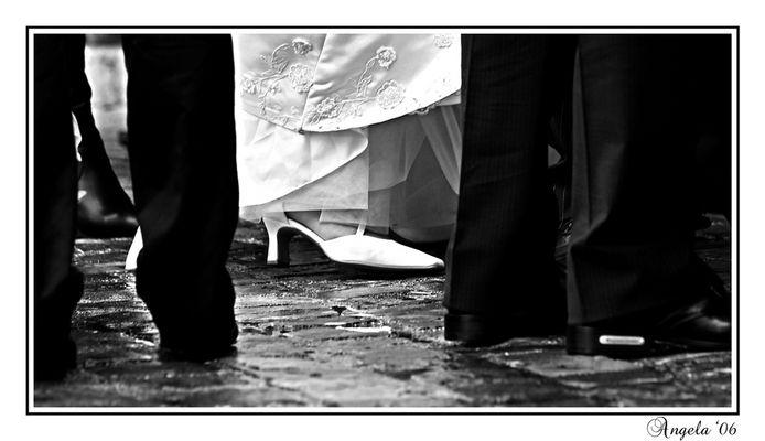 Sposa bagnata...