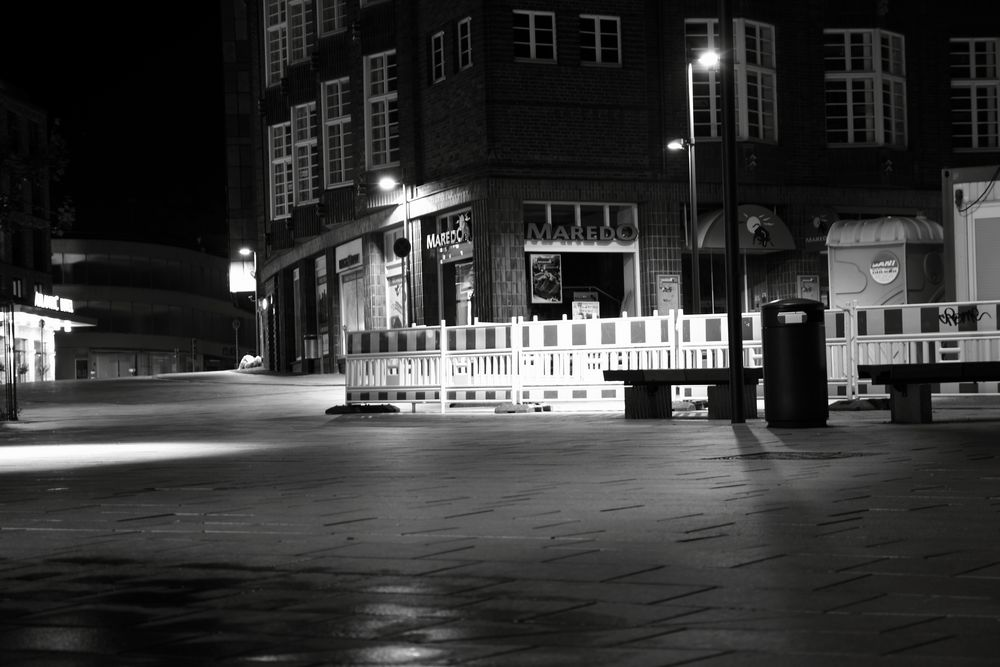 Spotlight Baustelle von Karl Heilmann
