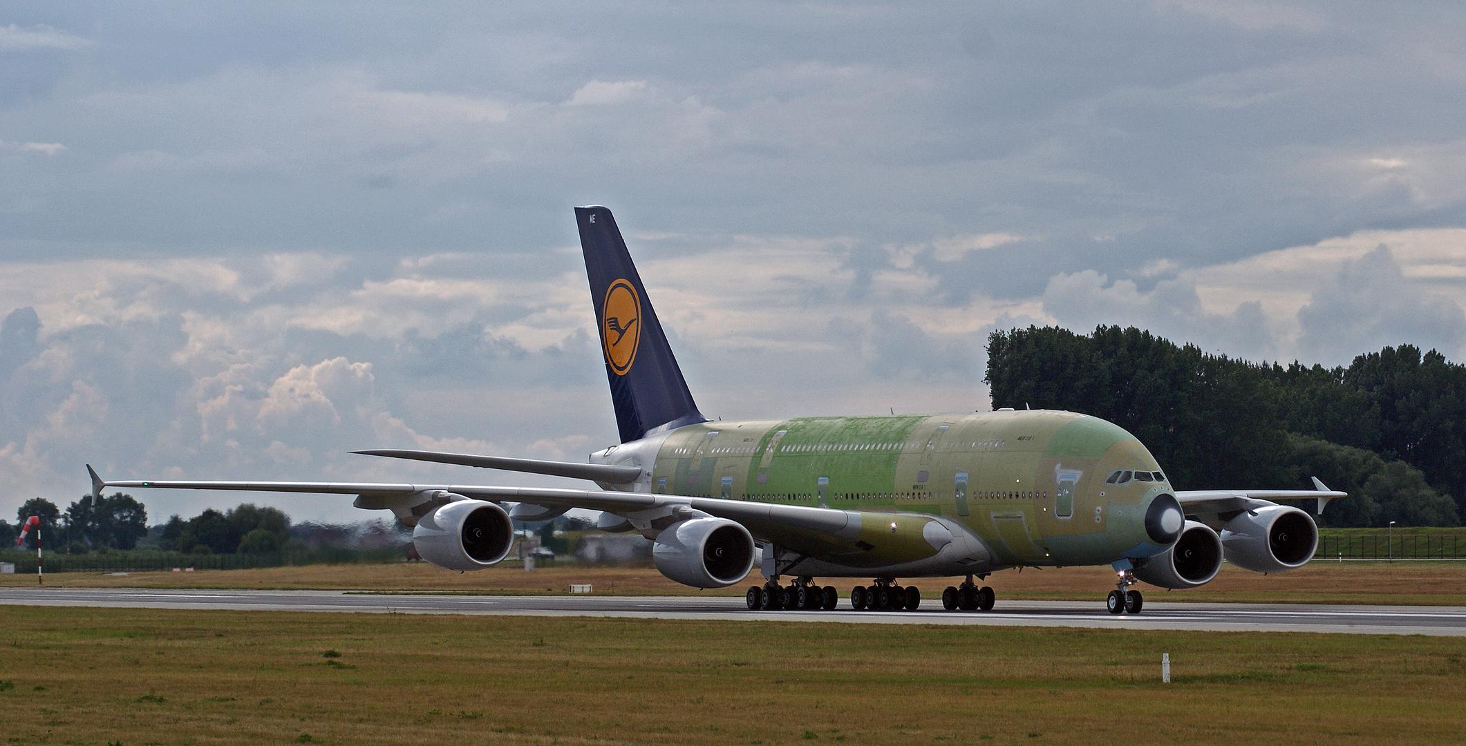Spotting bei Airbus # 1