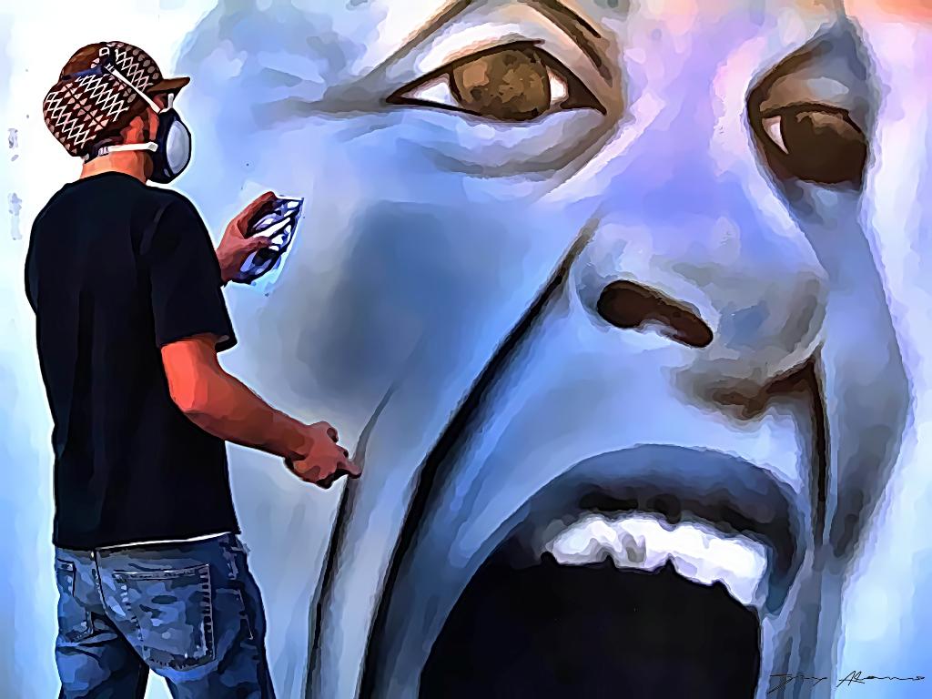 Spray en mano