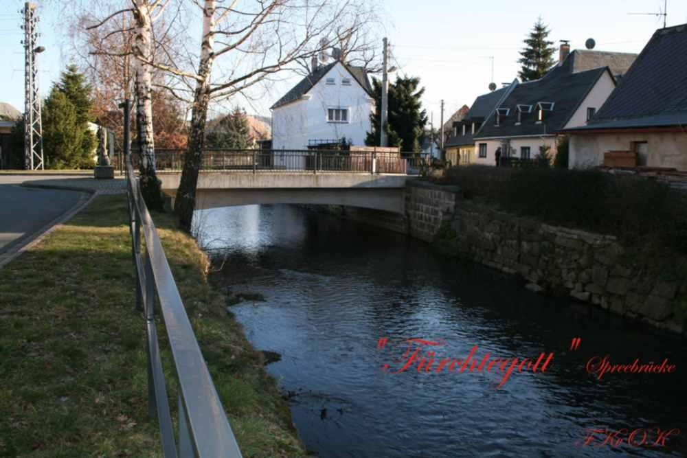 "Spree "" Fürchtegott - Brücke"" Friedersdorf"