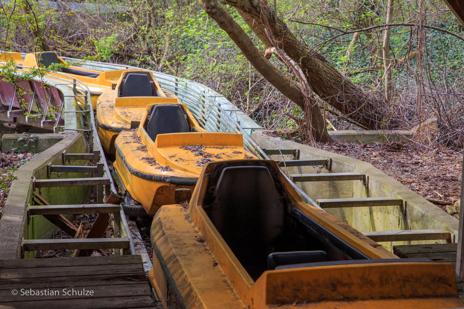 Spreepark #09 - Grand Canyon - die Boote warten auf Gäste