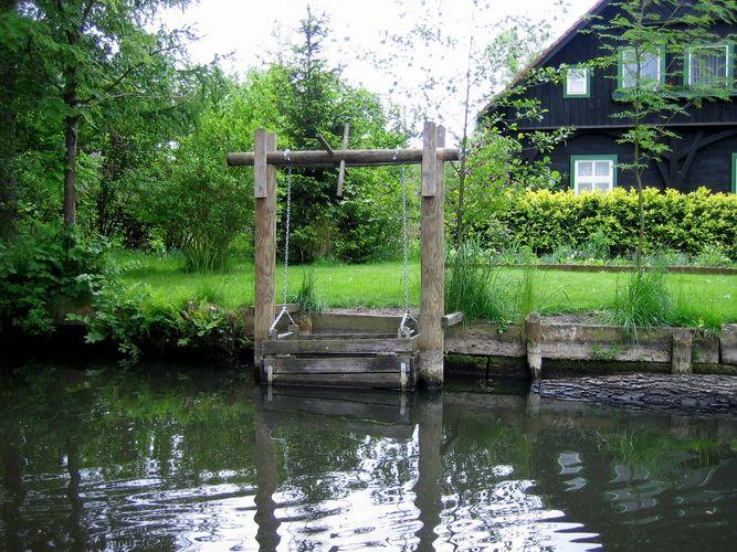 Spreewald ein Fischkasten