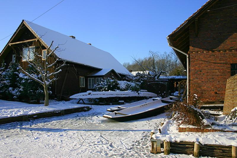 Spreewald im Januar 2008