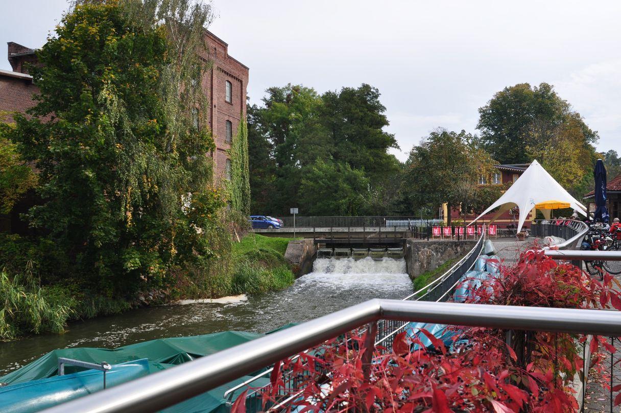 Spreewehr in Burg