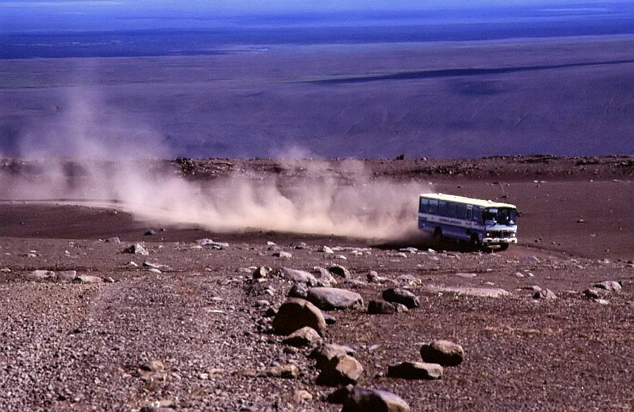 Sprengisandur-Route, Island 1996