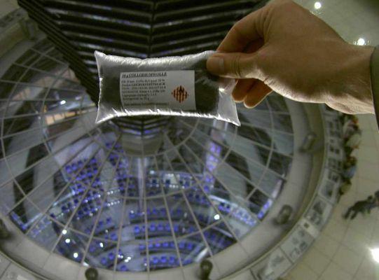 Sprengstoff im Reichstag