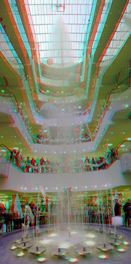Springbrunnen (3D-Foto)