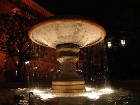 Springbrunnen aus Frankfurth
