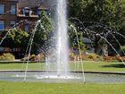 Springbrunnen im Stadtpark