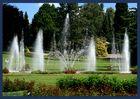 Springbrunnen im Walsrode-Vogelpark