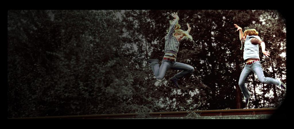 Springen ist super! :D