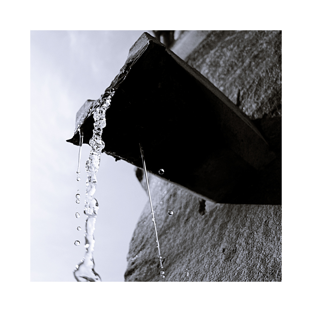 Springing water