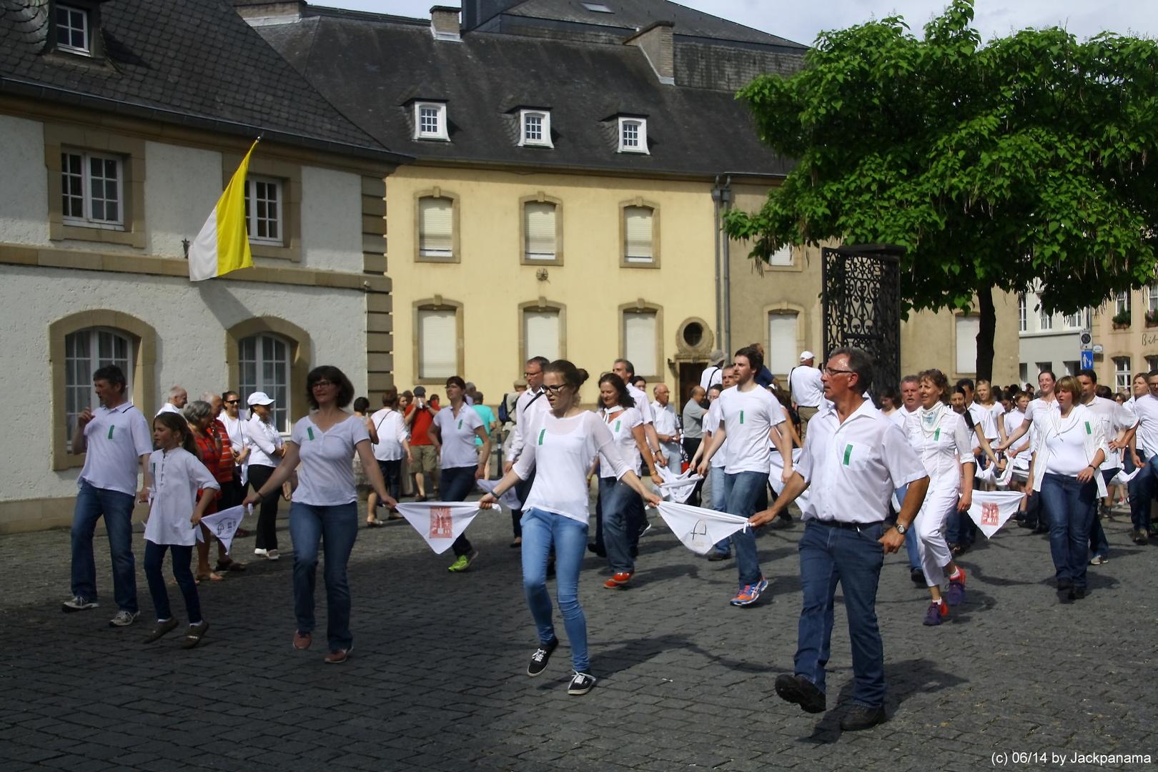 Springprozession in Echternach / Luxembourg