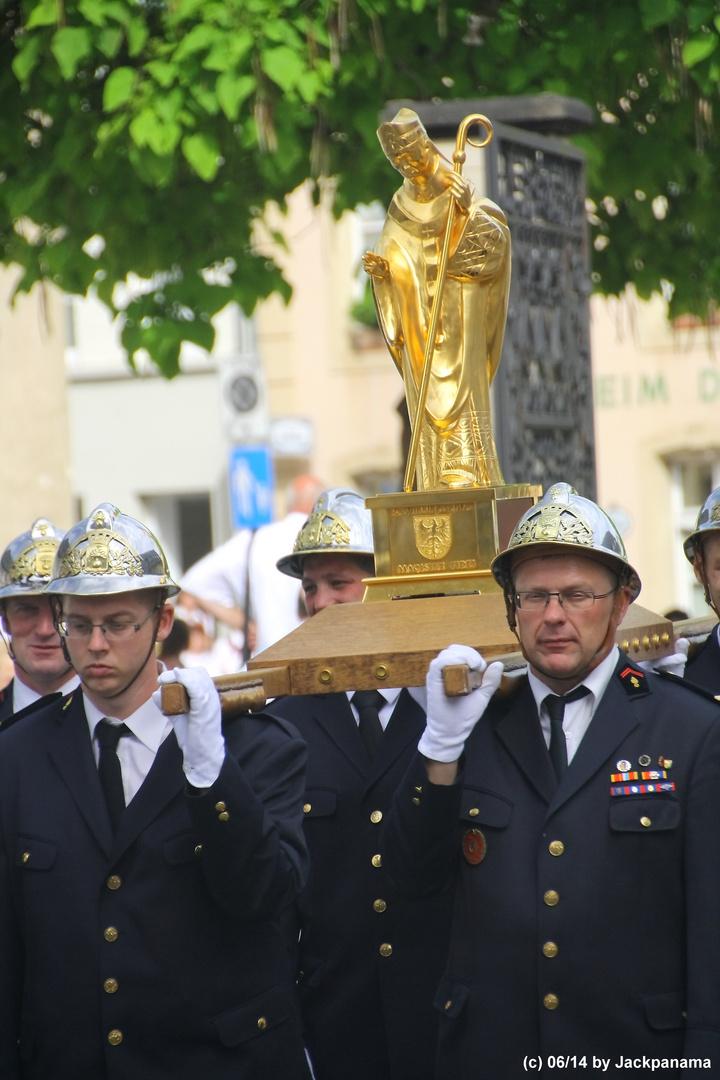 Springprozession zu Ehren des Hl. Wilibrord in Echternach / Luxembourg