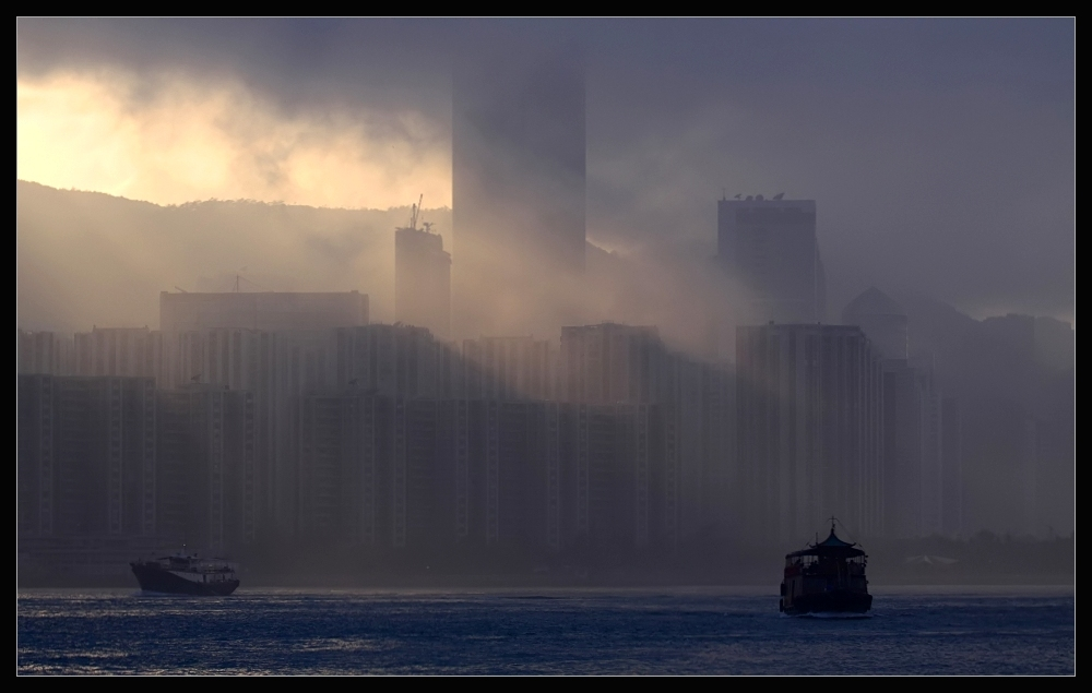 Springtime Fog - Hong Kong