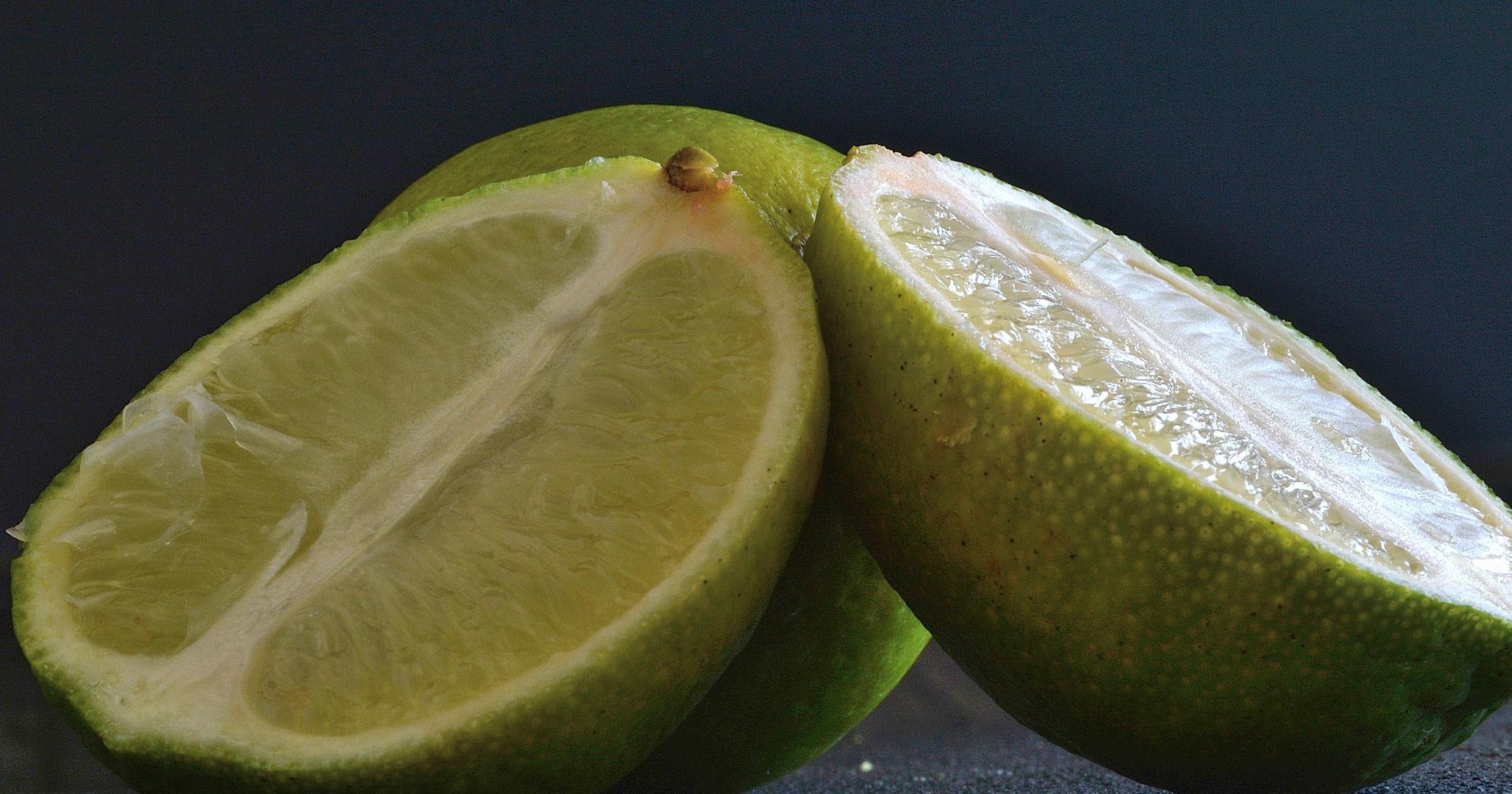 Spritzige Limetten