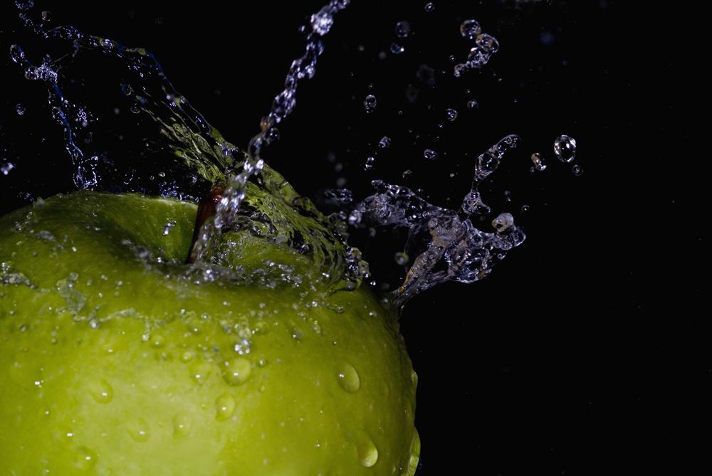 Spritziger Apfel