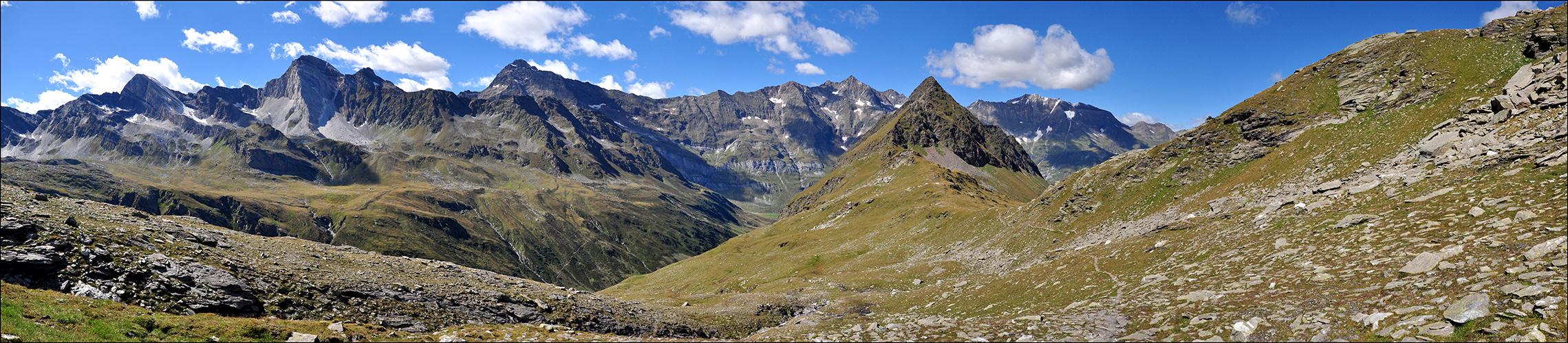 Spronser Joch - Panorama