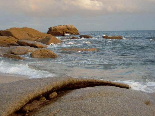 Sprudelndes Meer