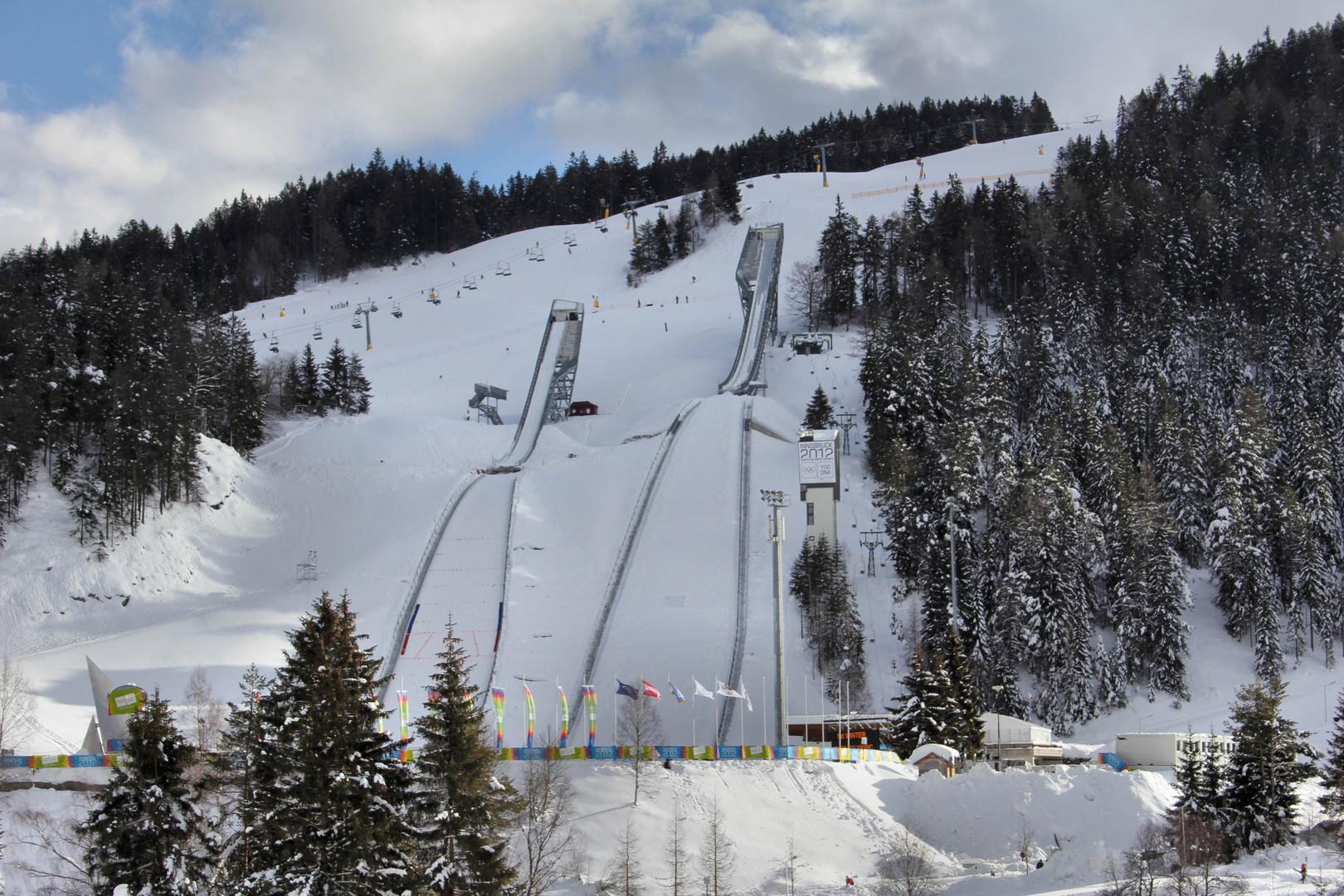 Sprungschanze in Seefeld