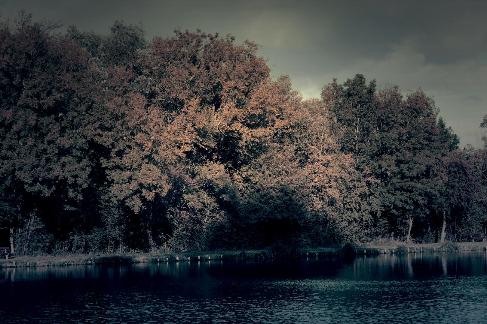 spuk am Böhmen Teich