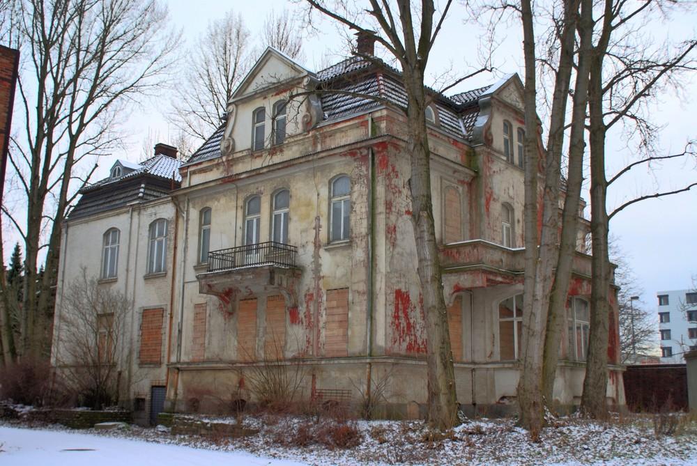 Spuk-Villa auf dem Hanomag-Gelände