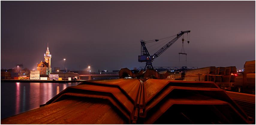 Spundwände - Dortmund Hafen
