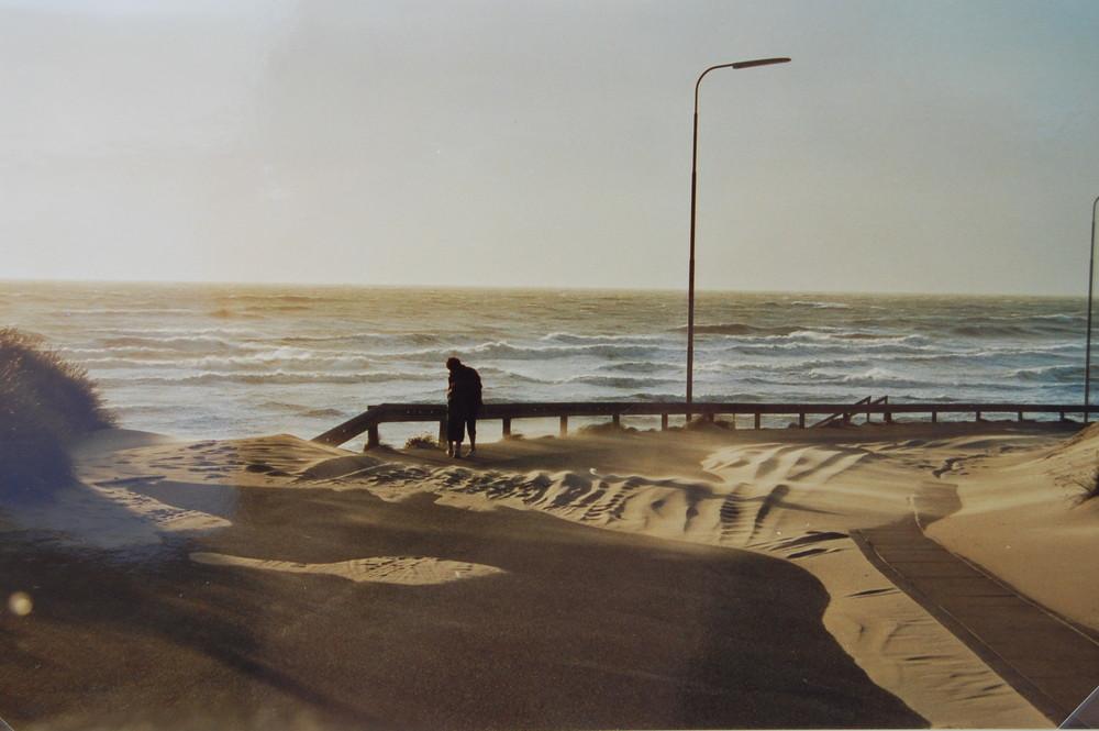 Spuren im Sand - einmal anders