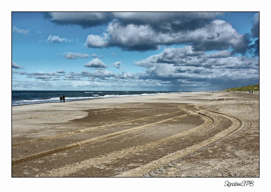 Spuren im Sand....