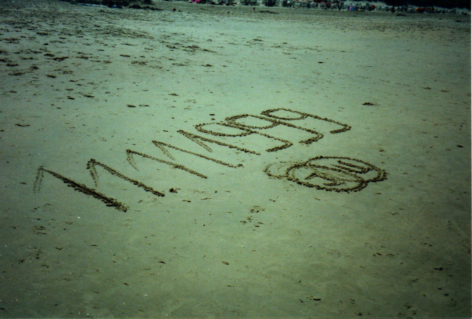 Spuren im Sand, Heiratsantrag auf Baltrum 1999