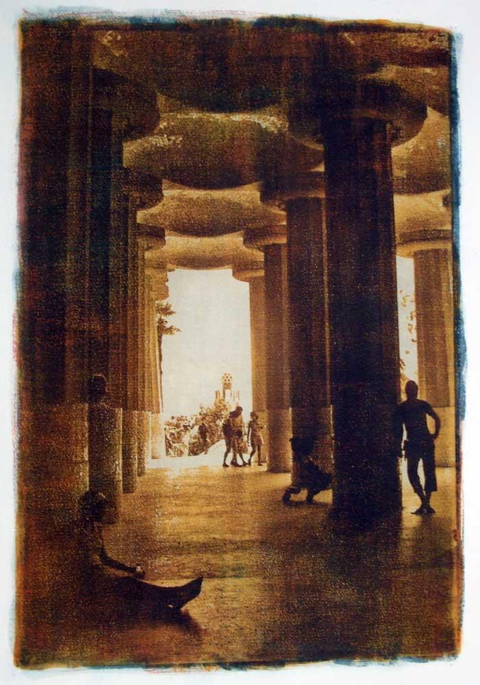 Spuren von Gaudi